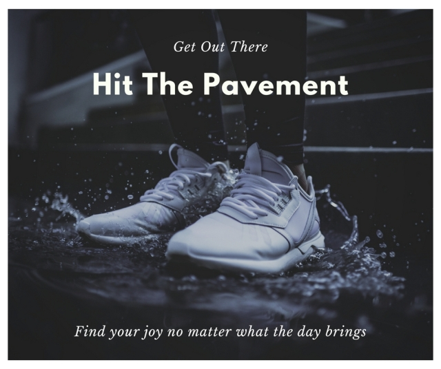 Hit The Pavement